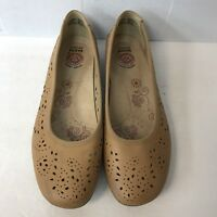 Earth Flats Shoes Women Size 8 Tan Leather Upper Great Condition