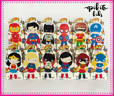 SUPERHERO PARTY FAVOUR BOXES THEMED KIDS BIRTHDAY LOLLY BAG SUPPLIES DECORATIONS