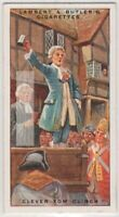 Clever Tom Clinch At Tyburn Gallows 90+ Y/O Ad Trade Card
