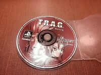 Sony PlayStation 1 PS1 PSX Disc Only Resurfaced T.R.A.G. Mission of Mercy Black