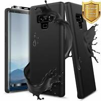 For Samsung Galaxy Note 9 Case Liquid Silicone Shockproof Soft Gel Rubber Cover
