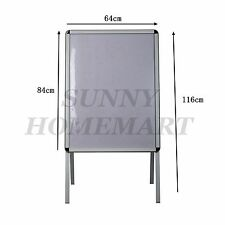NEW Double Sided A-Frame Poster Stand Street Snap Sign Holder Sidewalk Display