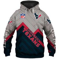 Houston Texans Fan's Hoodie Football Pullover Sweatshirt Hooded Jacket Gifts