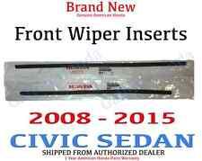 08-15 Honda CIVIC SEDAN Genuine OEM Rubber Insert 76622-STK-A02 / 76623-SNA-A12