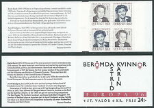 1996 EUROPA SVEZIA LIBRETTO MNH ** - VS-2