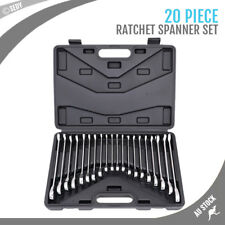 20-Piece Ratchet Spanner Set Metric Imperial SAE Combination Wrench
