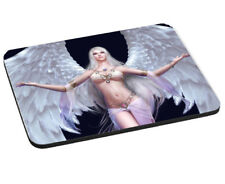 Angel Warrior Theme, Mouse Mat, Pad 220mm x 180mm, 5mm Thick.
