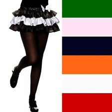 Girls Opaque Nylon Solid Color Tights  ML280