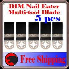 5 Nail Eater Oscillating MultiTool Saw Blade For Fein Multimaster Bosch Multi-X