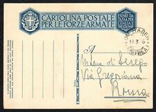 STORIA POSTALE Colonie Eritrea 1936 Franchigia da Om Hager a Roma (FILK)