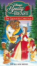 Beauty and the Beast: An Enchanted Christmas (VHS, 1998)