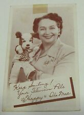 Happy & Ida Mae PHOTO (postcard) - it's a Pittsburgh thing!- Sat. morn.TV show