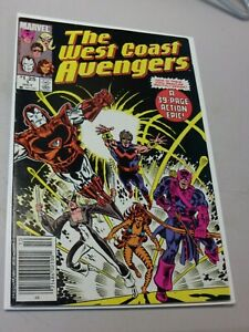 The West Coast Avengers - FIRST ISSUE - #1 Oct 1985 Newsstand Variant