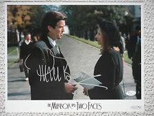 PIERCE BROSNAN HAND SIGNED OVERSIZED 11x14 PHOTO       WITH STREISAND      JSA