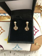 Louis Vuitton 14 Karat Gold Earrings