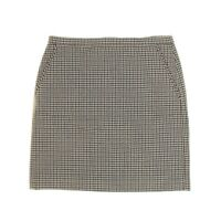 ANNE KLEIN NEW Women's Houndstooth Straight Pencil Skirt TEDO