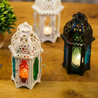 Moroccan Lantern Tea Light Lamp Candle Holder Hanging Home Garden Wedding Decor