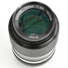 Nikon Nikkor 135mm f/3.5 AI Converted Manual Focus Lens. Exc++++. See test pics