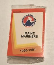 1990-91 MAINE MARINERS PRO-CARDS TEAM SET (AHL) FACTORY SEALED
