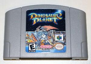 Dinosaur Planet Prototype English Game For Nintendo 64 N64 NTSC-U/C US Canada