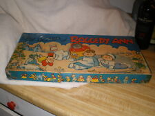 Antique Milton Bradley,1940, The Games of Raggedy Ann , Complete
