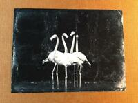 Out For A Dance  J Edwards Original Art Tintype Limited Series From Artist C042