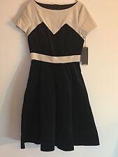 NWT Laura Byrnes Pinup Couture Amanda Velvet Dress Medium Vintage Pinup Girl