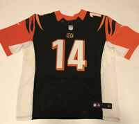 Nike Cinncinati Bengals On Field NFL Jersey Andy Dalton #14 Men's XL Black