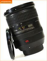 Nikon AF-S 18-200mm f3.5-5.6 G DX VR Lens Manual focus Zoom Lens + Free UK Post