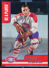 1998-99 BE A PLAYER BAP DICKIE MOORE AUTO