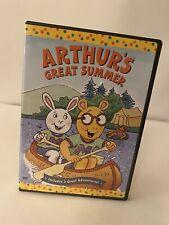 PBS Kids Arthur's Great Summer DVD Buster, Camp, Beach, Vacation Cartoon TV Show
