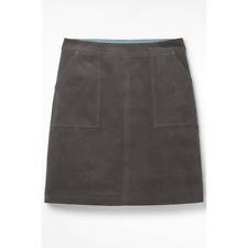 New White Stuff  Mid Grey Clocktower Cord Corduroy Skirt UK 12