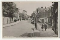 Harrow On The Hill High Street Vintage 1950s RP Postcard Middlesex 338c