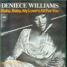 """7"""" Deniece Williams/Baby Baby My Love´s All For You (D)"""