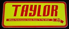 Taylor Ignition Wires Sticker Decal Rat Rod Gasser Musclecar Honda Drift Import