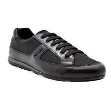 65dc9df6f888e Prada Fashion Sneakers Black Nylon Size Size 10.5 New