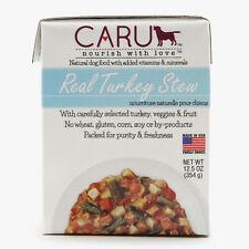 Caru Dog Stew Real Turkey 12.5oz.( Eaches) Free Shipping