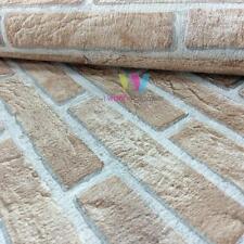 Erismann House Brick Wallpaper Double Embossed Realistic Textured Motif 4303-4