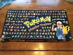 Pokemon Master Training Board Game (1999)