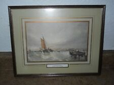Edwin Hayes Sailing Framed Print - Outward Bound