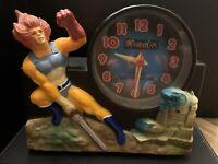 Vintage 80s ThunderCats Quartz Talking Alarm Clock ***RARE COLLECTORS ITEM***