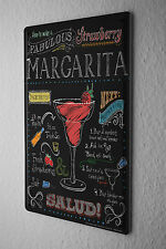 Tin Sign Bar Party Margarita