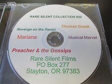 Rare Silent Film Collection #20 Revenge on the Range, Musical Marvel, Marianna
