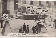 musée de l'armée  campagne 1914-1915  aviatik allemand pris a jonchery
