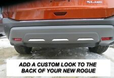 Lower Rear Bumper Chrome Insert Strips Fit 2021 to 2023 Nissan Rogue (Fits: Nissan)
