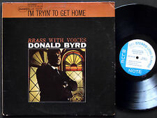 DONALD BYRD I'm Tryin' To Get Home LP BLUE NOTE 84188 Herbie Hancock Grant Green
