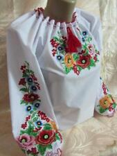 Ukrainian Embroidered Blouse for women Sorochka Vyshyvanka Tradition Size S-XL