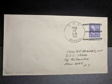 USS BOREAS AF-8 Naval Cover 1941 to USS SANDS