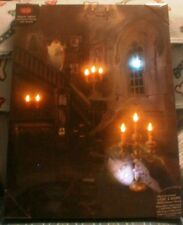 LIGHT & SOUND HALLOWEEN CANVAS DECORATIVE PICTURE 15 X 20 INCHES **NEW**