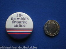 British Airways  pin badge - 1980s